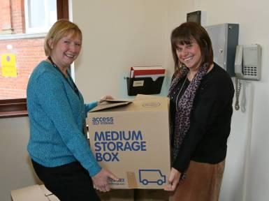 Rotary food parcels - Alan Meeks 27