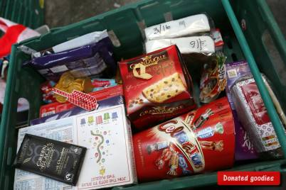 Rotary food parcels - Alan Meeks 4