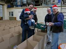 Rotary food parcels - Alan Meeks 5