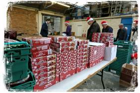 Rotary food parcels - Alan Meeks 6