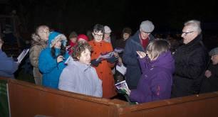 Windlesham Christmas Tree Lights 2015 - Mike Hillman 1