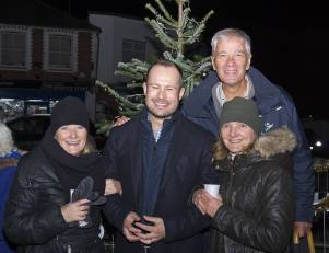Windlesham Christmas Tree Lights 2015 - Mike Hillman 14