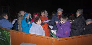 Windlesham Christmas Tree Lights 2015 - Mike Hillman 2