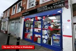 Windlesham Post Office - Alan Meeks 21