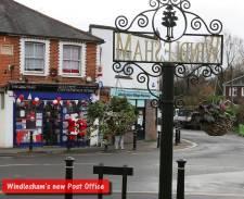 Windlesham Post Office - Alan Meeks 3