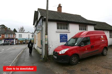 Windlesham Post Office - Alan Meeks 30