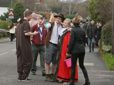 Windlesham Pram Race 2015 - Alan Meeks 55