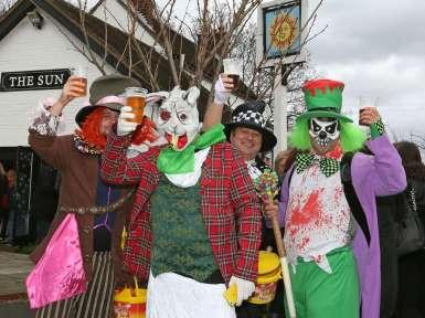 Windlesham Pram Race 2015 - Alan Meeks 58