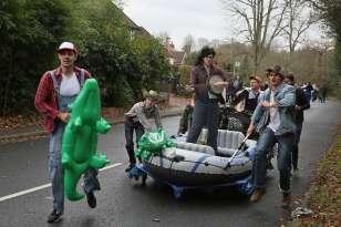 Windlesham Pram Race 2015 - Alan Meeks 80