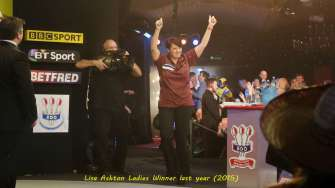 Lakeside BDO Darts 2 Jan 2016 - Alan Meeks 12