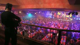 Lakeside BDO Darts 2 Jan 2016 - Alan Meeks 28
