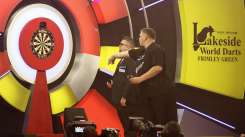 Lakeside BDO Darts 2 Jan 2016 - Alan Meeks 30