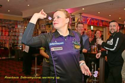 Lakeside BDO Darts 2 Jan 2016 - Alan Meeks 52