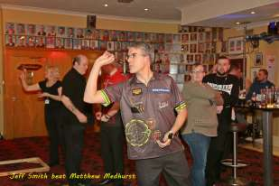 Lakeside BDO Darts 2 Jan 2016 - Alan Meeks 53