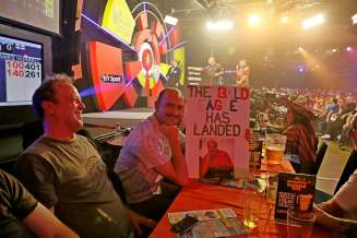 Lakeside BDO Darts 2 Jan 2016 - Alan Meeks 59