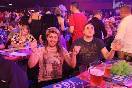 Lakeside BDO Darts 2 Jan 2016 - Alan Meeks 60