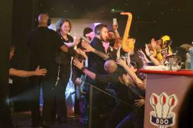 Lakeside BDO Darts 2 Jan 2016 - Alan Meeks 77