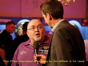Lakeside BDO Darts 2 Jan 2016 - Alan Meeks 8