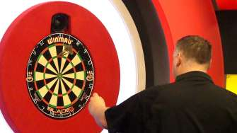 Lakeside BDO Darts 3 Jan 2016 afternoon - Alan Meeks 19
