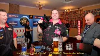 Lakeside BDO Darts 3 Jan 2016 afternoon - Alan Meeks 2