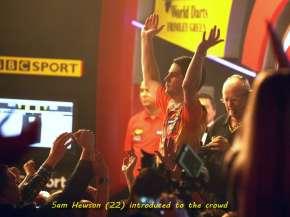 Lakeside BDO Darts 3 Jan 2016 afternoon - Alan Meeks 21