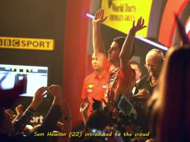 Lakeside BDO Darts 3 Jan 2016 afternoon - Alan Meeks 21