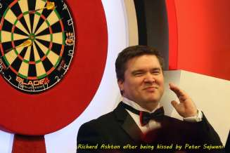 Lakeside BDO Darts 3 Jan 2016 afternoon - Alan Meeks 30
