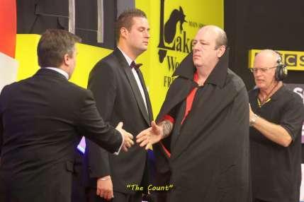 Lakeside BDO Darts 3 Jan 2016 afternoon - Alan Meeks 42