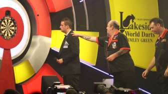 Lakeside BDO Darts 3 Jan 2016 afternoon - Alan Meeks 48