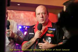 Lakeside BDO Darts 3 Jan 2016 afternoon - Alan Meeks 49