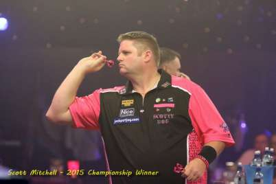 Lakeside BDO Darts 3 Jan 2016 afternoon - Alan Meeks 56