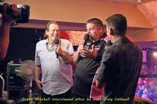 Lakeside BDO Darts 3 Jan 2016 afternoon - Alan Meeks 58