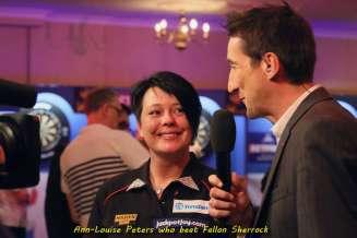 Lakeside BDO Darts 3 Jan 2016 afternoon - Alan Meeks 65