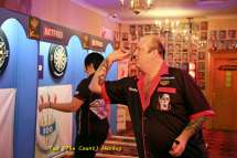 Lakeside BDO Darts 3 Jan 2016 afternoon - Alan Meeks 8