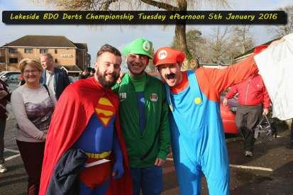 Lakeside BDO Darts 5 Jan 2016 afternoon - Alan Meeks 1