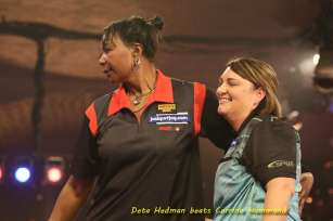 Lakeside BDO Darts 5 Jan 2016 afternoon - Alan Meeks 12