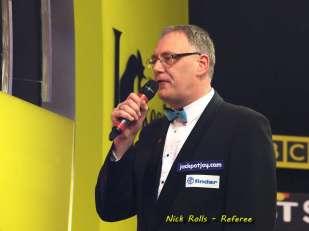 Lakeside BDO Darts 5 Jan 2016 afternoon - Alan Meeks 23