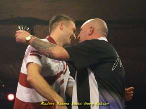 Lakeside BDO Darts 5 Jan 2016 afternoon - Alan Meeks 28