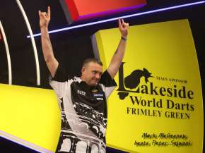 Lakeside BDO Darts 5 Jan 2016 afternoon - Alan Meeks 39