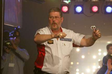 Lakeside BDO Darts 5 Jan 2016 afternoon - Alan Meeks 41