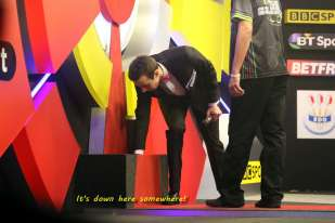 Lakeside BDO Darts 5 Jan 2016 afternoon - Alan Meeks 50