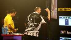 Lakeside BDO Darts 5 Jan 2016 afternoon - Alan Meeks 55