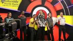 Lakeside BDO Darts 5 Jan 2016 afternoon - Alan Meeks 57