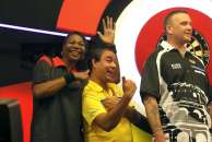 Lakeside BDO Darts 5 Jan 2016 afternoon - Alan Meeks 58
