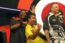 Lakeside BDO Darts 5 Jan 2016 afternoon - Alan Meeks 58
