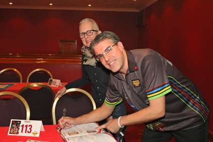 Lakeside BDO Darts 5 Jan 2016 afternoon - Alan Meeks 65