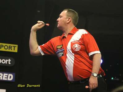 Lakeside BDO Darts 6 Jan 2016 afternoon - Alan Meeks 10