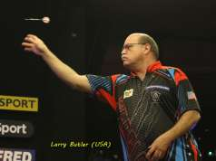 Lakeside BDO Darts 6 Jan 2016 afternoon - Alan Meeks 11