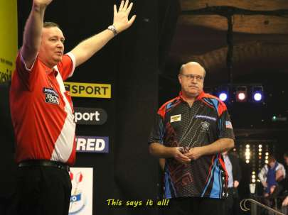 Lakeside BDO Darts 6 Jan 2016 afternoon - Alan Meeks 13