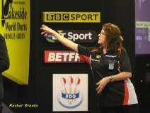 Lakeside BDO Darts 6 Jan 2016 afternoon - Alan Meeks 15